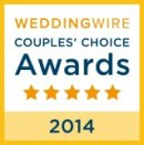 Wedding Wire 2014 Gold Top Rating